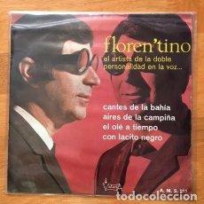 Discos de vinilo: FLORENTINO, EL ARTISTA DE LA DOBLE PERSONALIDAD - 1967. Lote 94723667