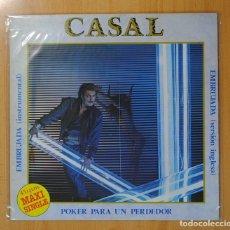 Discos de vinilo: TINO CASAL - POKER PARA UN PERDEDOR - MAXI. Lote 94726931