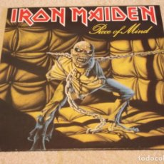 Discos de vinilo: IRON MAIDEN ( PIECE OF MIND ) 1983 - EEC LP33 EMI. Lote 94737223