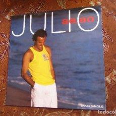 Discos de vinilo: JULIO IGLESIAS- MAXI -SINGLE DE VINILO - TITULO AE, AO- LATIN -POP- CON 3 TEMAS- ORIGINAL 88- NUEVO. Lote 94742675