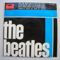 Discos de vinilo: THE BEATLES-TONY SHERIDAN.AIN´T SHE SWEET + 3.EP POLYDOR.EPH 50.932.AÑO 1964.MUY RARO.. Lote 94747059
