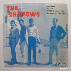 Discos de vinilo: THE SHADOWS.GERONIMO + 3.EP LA VOZ DE SU AMO 7EPL 14.021.AÑO 1964.. Lote 94757083