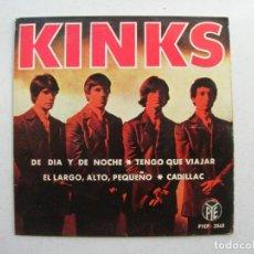 Discos de vinilo: THE KINKS.DE DIA Y DE NOCHE + 3.EP PYE.PYEP-2068.AÑO 1965.. Lote 94757759