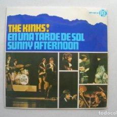 Discos de vinilo: THE KINKS.EN UNA TARDE DE SOL + 3.EP PYE.HPY 337-31.AÑO 1966.. Lote 94757935
