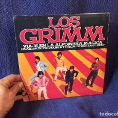 Discos de vinilo: LOS GRIMM VIAJE EN LA ALFOMBRA MAGICA 65/69 1LP 10 PULGADAS LOS GRIMM NUEVO SIN ABRIR. Lote 119864899