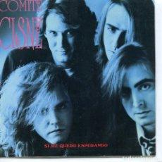 Discos de vinil: COMITE CISNE / SI ME QUEDO ESPERANDO / ROSA DEL DESIERTO (SINGLE 1991). Lote 94775551