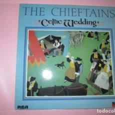 Discos de vinilo: LP-CELTIC WEDDING-THE CHIEFTAINS-RCA-RED SEAL DIGITAL-1987-9 TEMAS-COMO NUEVO-FUNDA EXTERIOR NUEVA. Lote 94784271
