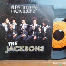 Discos de vinilo: THE JACKSONS,.MUEVE TU CUERPO .Y OTRA.. Lote 94794811