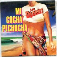 Dischi in vinile: LOS DIABLOS / MI COCHA PECHOCHA (SINGLE PROMO 1987) SOLO CARA A. Lote 94805839