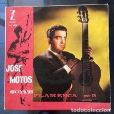 Discos de vinilo: JOSÉ MOTOS - SUITE FLAMENCA - 1963 - VINILO COMO NUEVO. Lote 94815403