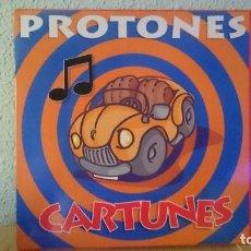 Discos de vinilo: PROTONES.,, CARTUNES ,,LP,SPAIN,,DIFICIL,1994. Lote 94816223