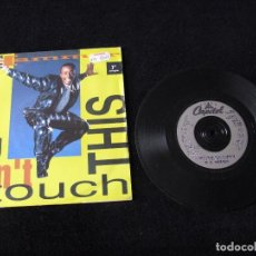 Discos de vinilo: MC HAMMER ··· U CAN'T TOUCH THIS / U CAN'T TOUCH THIS (INSTRUMENTAL) - (SINGLE 45RPM) ·UK, NUEVO!. Lote 94848843