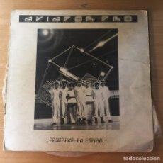 Discos de vinilo: AVIADOR DRO. PROGRAMA EN ESPIRAL. MAXI SINGLE. AÑO 1982.. Lote 94848275