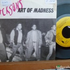 Discos de vinilo: THE JACKSONS,.ART OF MADNESS -PROMO SOLO UNA CARA -. Lote 94862527