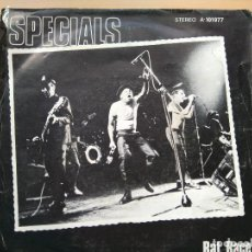Discos de vinilo: SPECIALS - RAT RACE (SG) 1980. Lote 94865663