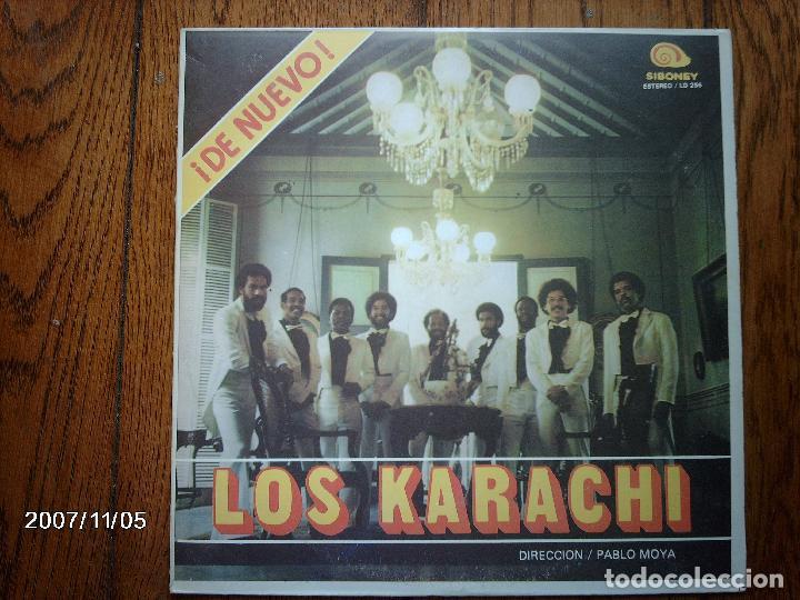 LOS KARACHI - DE NUEVO LOS KARACHI - EDICIÓN CUBANA (Música - Discos - LP Vinilo - Orquestas)