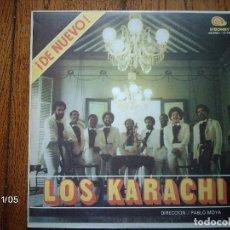 Discos de vinilo: LOS KARACHI - DE NUEVO LOS KARACHI - EDICIÓN CUBANA. Lote 94874547