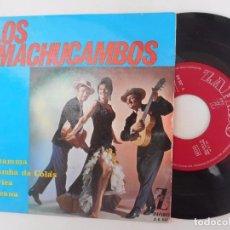 Discos de vinilo: EP DE LOS MACHUCAMBOS-LA MAMMA +3. Lote 94898783