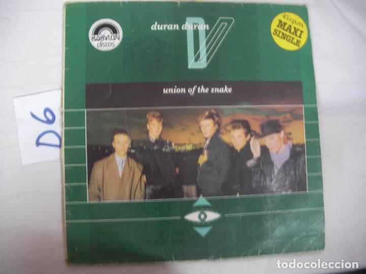 ANTIGUO DISCO LP VINILO - DURAN DURAN - ENVIO INCLUIDO A ESPAÑA (Música - Discos - LP Vinilo - Otros estilos)