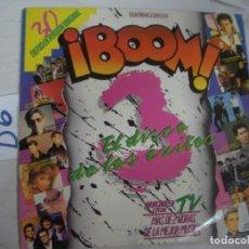 Discos de vinilo: ANTIGUO DISCO LP VINILO - BOOM 3 - ENVIO INCLUIDO A ESPAÑA. Lote 94907083