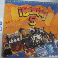 Discos de vinilo: ANTIGUO DISCO LP VINILO - BOOM 5 - ENVIO INCLUIDO A ESPAÑA. Lote 94907203