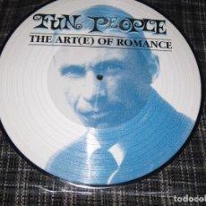 Disques de vinyle: FUN PEOPLE THE ART-E OF ROMANCE- ESPECIAL EDITION.. Lote 206885093