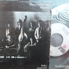 Discos de vinilo: LA MUNDIAL -HONEY -SUCKLE ROSE -NOS TRES -. Lote 94908723