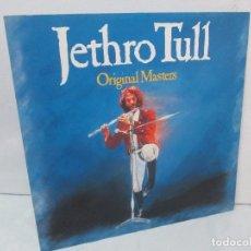 Discos de vinilo: JETHRO TULL. ORIGINAL MASTERS. DISCO DE VINILO. CHRYSALIS RECORDS 1985. VER FOTOGRAFIAS. Lote 94908743