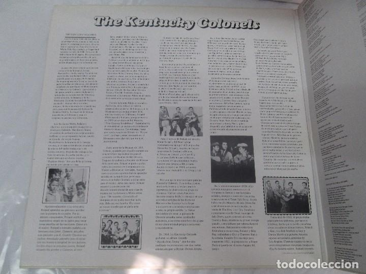 Discos de vinilo: THE KENTUCKY COLONELS. COUNTRY BLUEGRASS. DISCO DE VINILO. ROUNDER RECORDS. 1979 - Foto 3 - 94911075