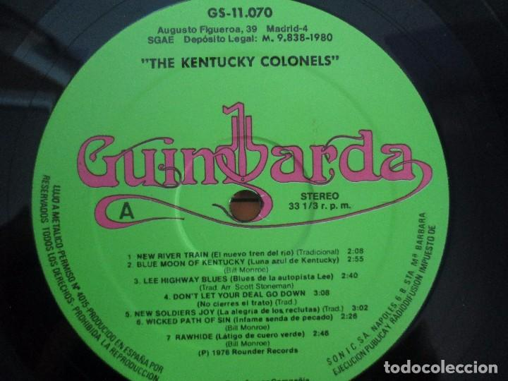 Discos de vinilo: THE KENTUCKY COLONELS. COUNTRY BLUEGRASS. DISCO DE VINILO. ROUNDER RECORDS. 1979 - Foto 6 - 94911075