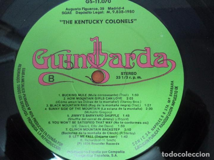 Discos de vinilo: THE KENTUCKY COLONELS. COUNTRY BLUEGRASS. DISCO DE VINILO. ROUNDER RECORDS. 1979 - Foto 9 - 94911075