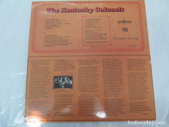 Discos de vinilo: THE KENTUCKY COLONELS. COUNTRY BLUEGRASS. DISCO DE VINILO. ROUNDER RECORDS. 1979 - Foto 11 - 94911075