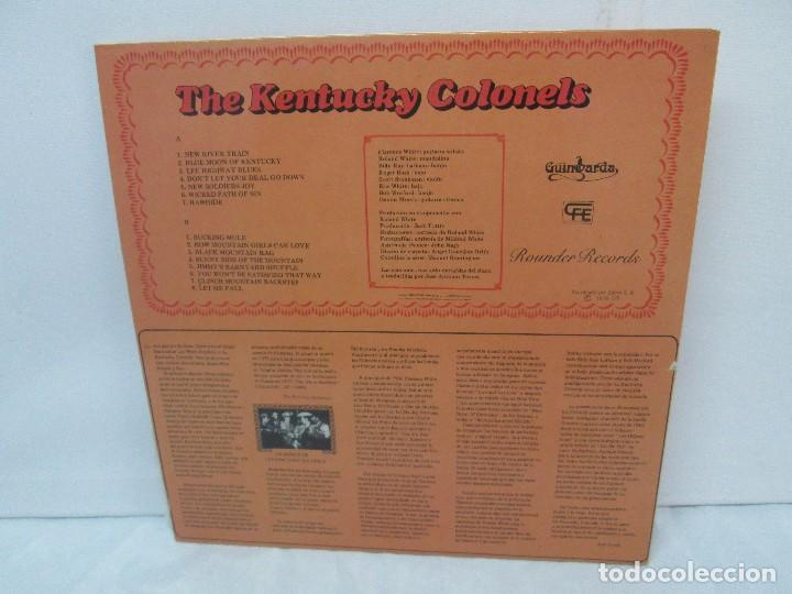Discos de vinilo: THE KENTUCKY COLONELS. COUNTRY BLUEGRASS. DISCO DE VINILO. ROUNDER RECORDS. 1979 - Foto 12 - 94911075
