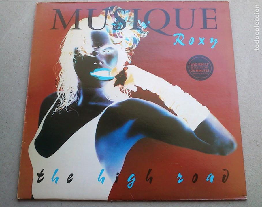 ROXY MUSIC - THE HIGH ROAD - LIVE - EP MINI LP - 1983 - ESPAÑA - BUEN ESTADO (Música - Discos de Vinilo - EPs - Pop - Rock - New Wave Extranjero de los 80)