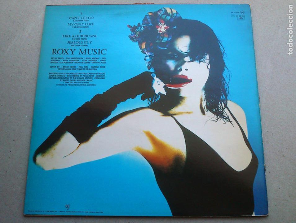 Discos de vinilo: ROXY MUSIC - THE HIGH ROAD - LIVE - EP MINI LP - 1983 - ESPAÑA - BUEN ESTADO - Foto 7 - 94913807