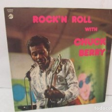 Discos de vinilo: ROCK´N ROLL WITH CHUC BERRY. DISCO DE VINILO. CONTIENE DOS DISCOS. MUSIDISC EUROPE 1955-1965. Lote 94917807