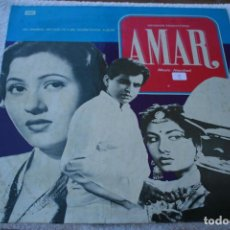 Discos de vinilo: LP HINDI FILM: AMAR EMI MFD BY THE GRAMOPHONE COMPANY OF INDIA LIMITED 1977. Lote 94932743