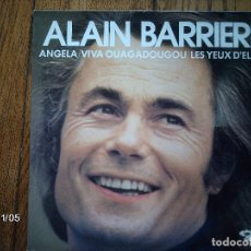 Discos de vinilo: ALAIN BARRIERE - ANGELA + .... Lote 94933171
