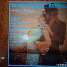 Discos de vinilo: JUAN IBAÑEZ - TANGOS, PASOS... ETERNELS . Lote 94933399
