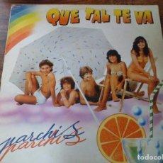 Discos de vinilo: LP QUE TAL TE VA. PARCHIS. Lote 94939691