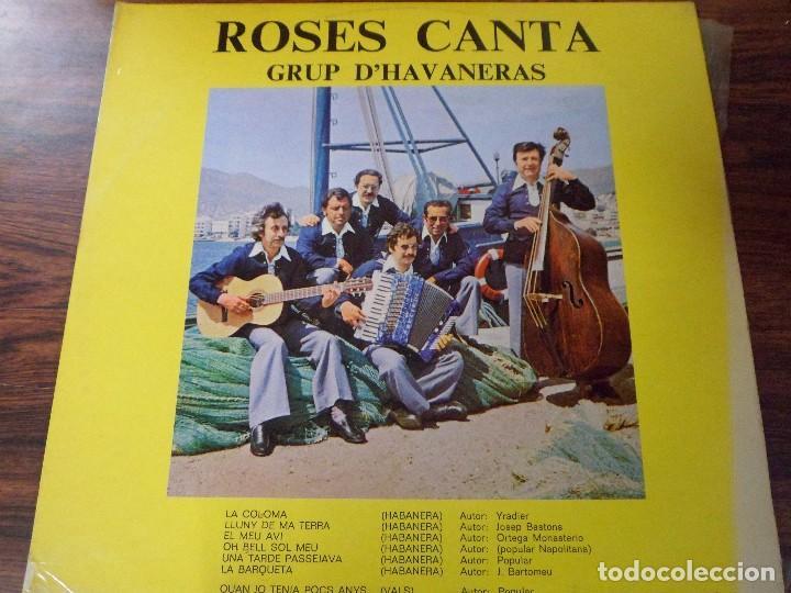 LP ROSES CANTA. GRUP D´HAVANERAS. (HABANERAS) (Música - Discos - LP Vinilo - Country y Folk)