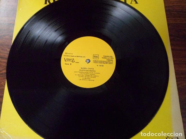 Discos de vinilo: LP ROSES CANTA. GRUP D´HAVANERAS. (HABANERAS) - Foto 2 - 94940287
