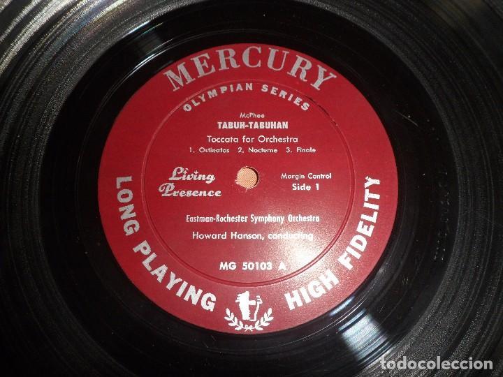 Discos de vinilo: LP COLIN MCPHEE. TABUH.TABUHAN / ELLIOTT CARTER. THE MINOTAUR. - Foto 2 - 94941647