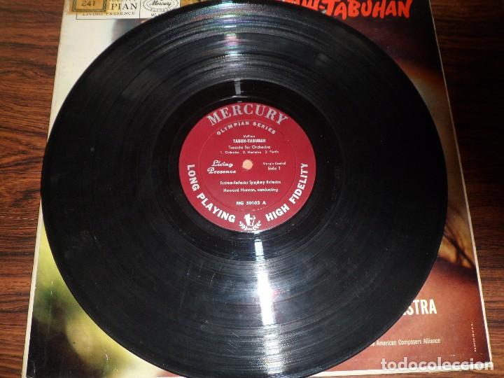 Discos de vinilo: LP COLIN MCPHEE. TABUH.TABUHAN / ELLIOTT CARTER. THE MINOTAUR. - Foto 3 - 94941647