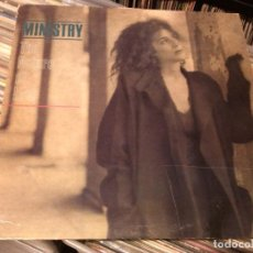 Discos de vinilo: MINISTRY - THE NATURE OF LOVE 1985 USA. Lote 94946863