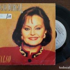 Discos de vinilo: ROCIO DURCAL, FALSO (ARIOLA) SINGLE. Lote 94947115
