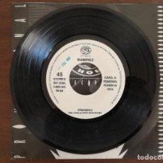 Discos de vinilo: RAMIREZ, ORGASMICO (POWER) SINGLE PROMOCIONAL ESPAÑA. Lote 94970427