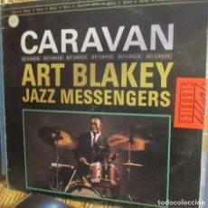 Discos de vinilo: ART BLAKEY JAZZ MESSENGERS - LP CARAVAN. Lote 94977291