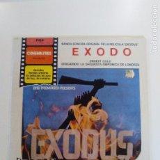 Discos de vinilo: EXODUS ( EXODO ) ( 1972 RCA 1981 ) ERNEST GOLD OTTO PREMINGER PAUL NEWMAN . Lote 94978047