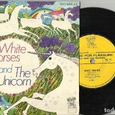 Discos de vinilo: WHITE HORSES - THE UNICORN.INGLATERRA 1970. Lote 94978647